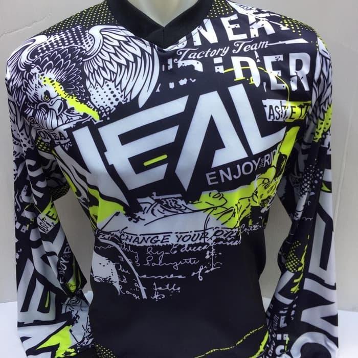 jersey/baju sepeda downhill panjang oneal baju motor cross jumbo xl