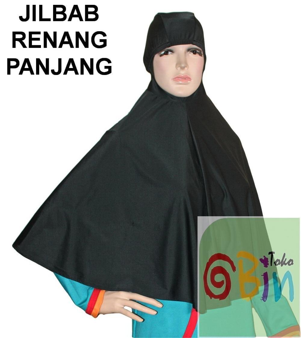 Jilbab Renang Ekstra Panjang Topi Renang Murah Limited