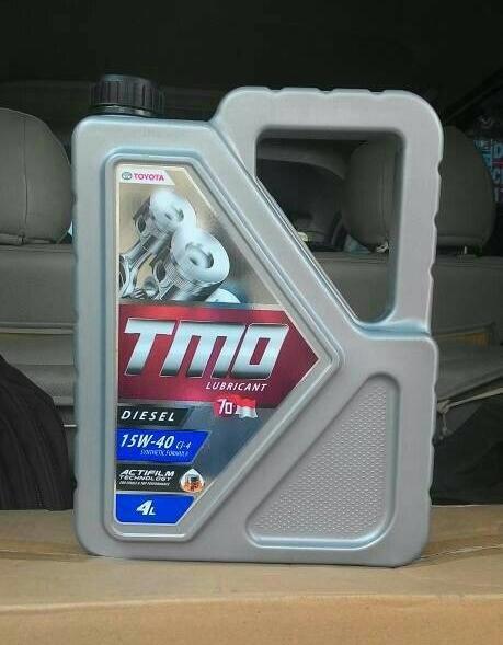 Olie Mobil Toyota TMO Diesel SAE 15w40 Kemasan Galon