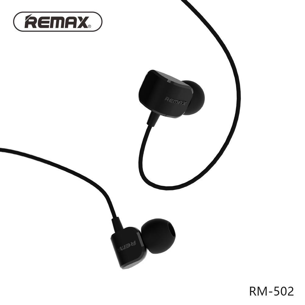 REMAX Original Sport Handsfree/ Earphone / Headset RM-502 untuk Samsung, Xiaomi,