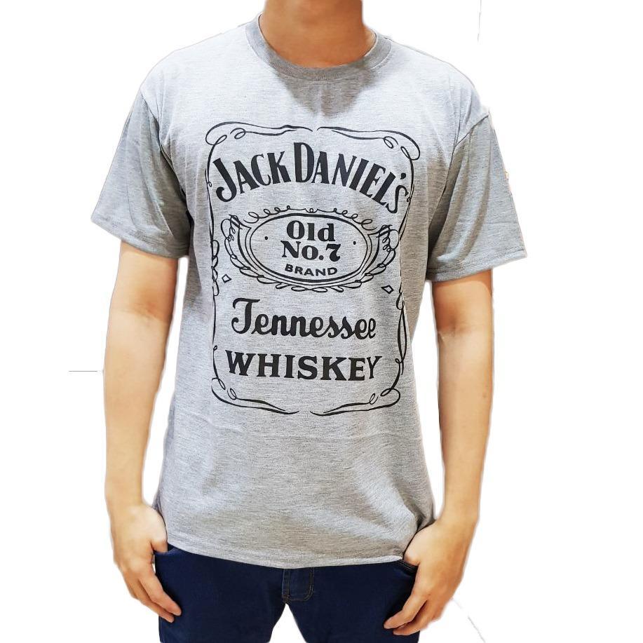 Ayako Fashion Kaos Pria / Kaos Cowo / Kaos Distro / Kaos Jack Daniels No 7
