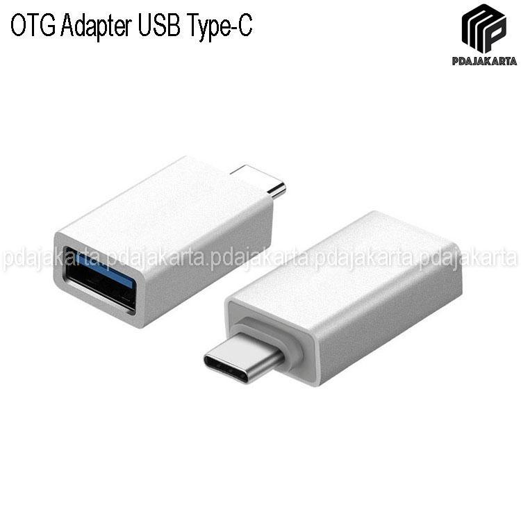 OTG Adapter USB Type-C (Ini Harus Di Sambung Ke USB Drive)