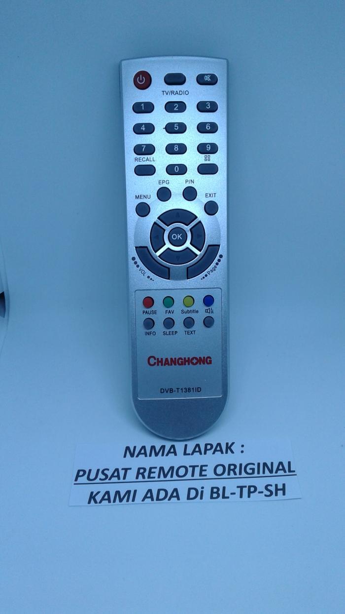 REMOTE REMOT TV CHANGHONG ORIGINAL ASLI TIPE LAMA PUTIH