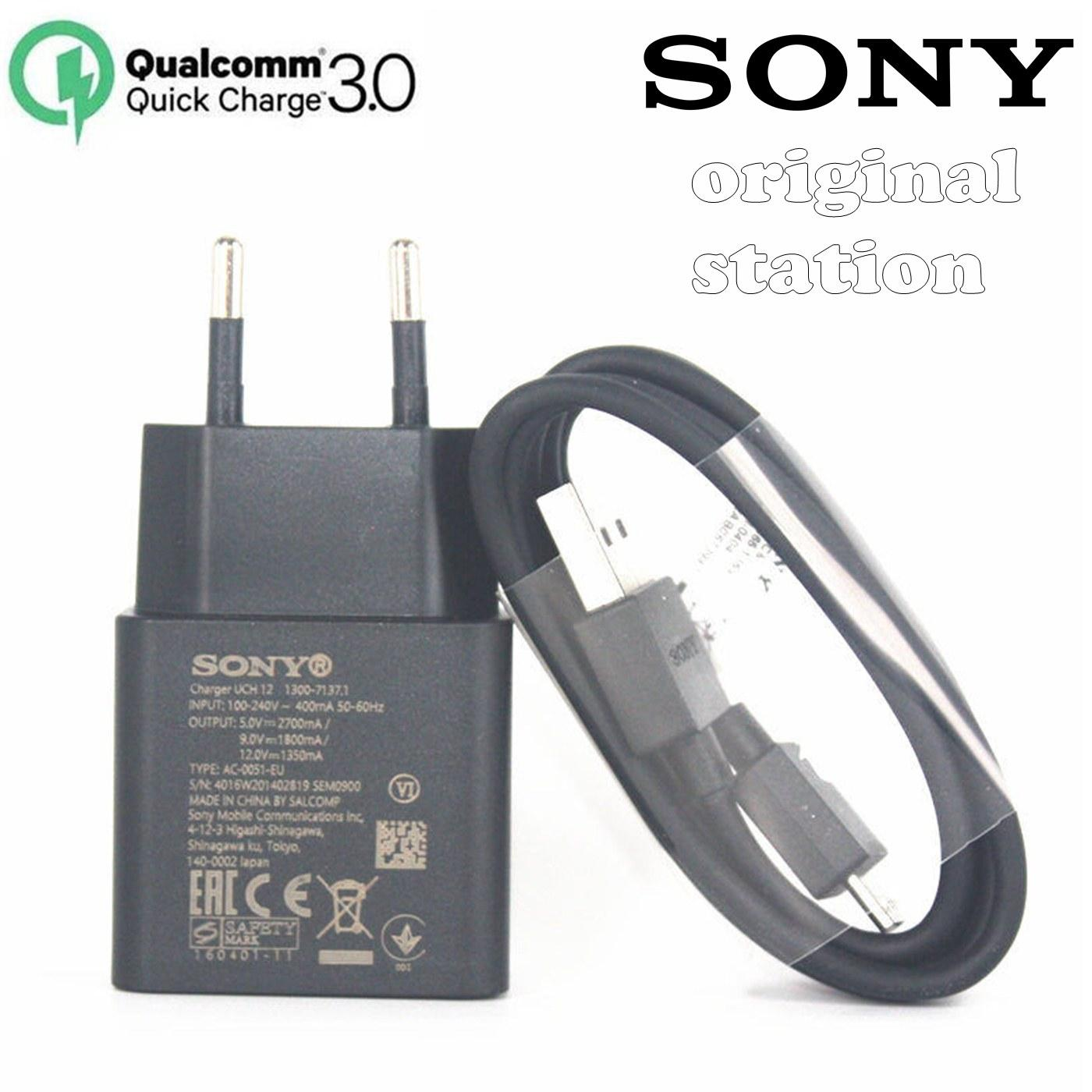 Kabel Charger Spare Part Bolt 21a Fast Charge 3in1 Cable Sony Qualcomm Quick 30 Type C Model Uch 12 For Xperia Xz Xz1 Xzs