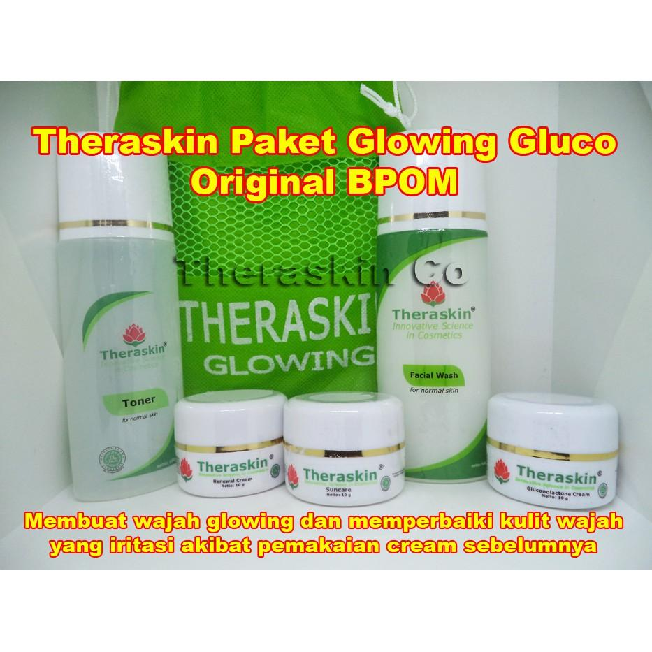 Buy Sell Cheapest Theraskin Gluco Cleanser Best Quality Product Cream Paket Normal Bpom Glowing Original Anti Iritasi