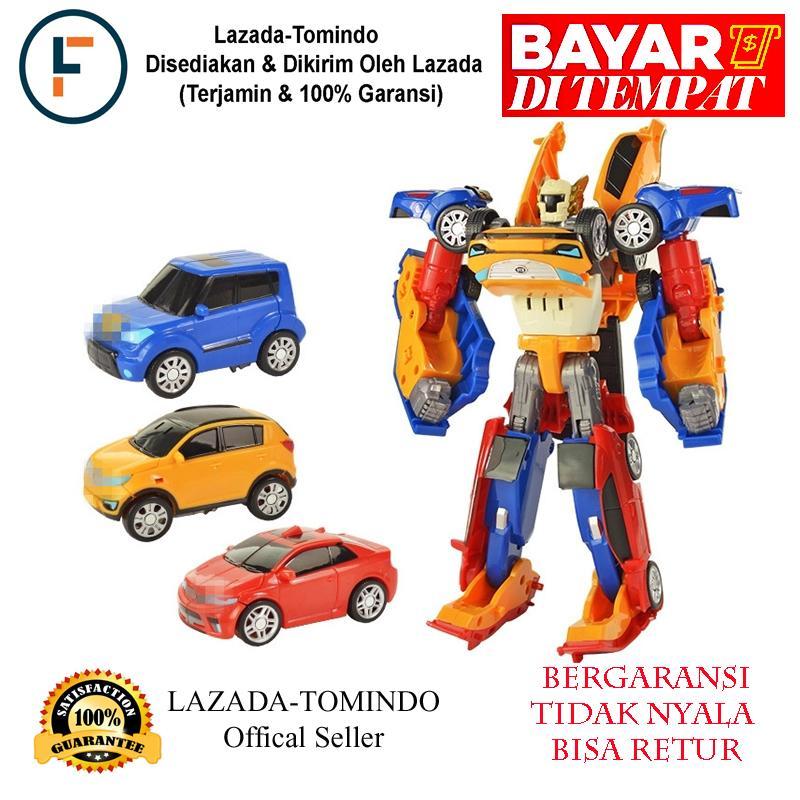 Tomindo Tobot Tritan 3 in 1 (Ukuran Besar)   mainan anak   mainan mobil 220c7483ca
