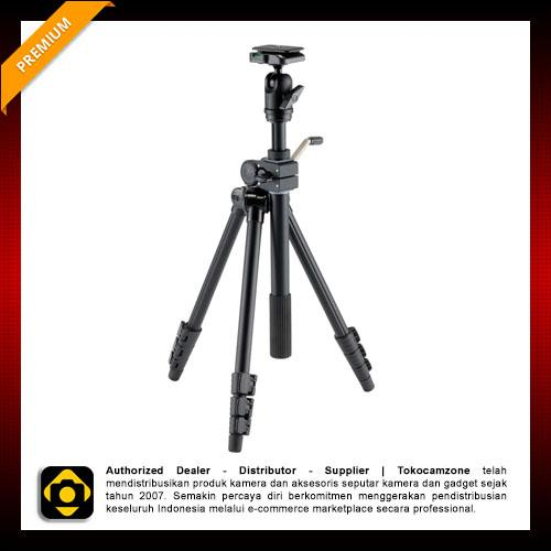 Velbon VS-443D 4-Section Aluminum Versatile Tripod with Ball Head