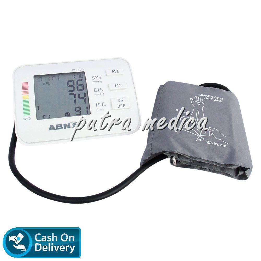 Jual Produk Alat Kesehatan Abn Terlengkap Ukur Tensi Darah Blood Pressure Monitor Tensimeter Putra Medica Digital Du120 White Elektrik Murah Berkualitas