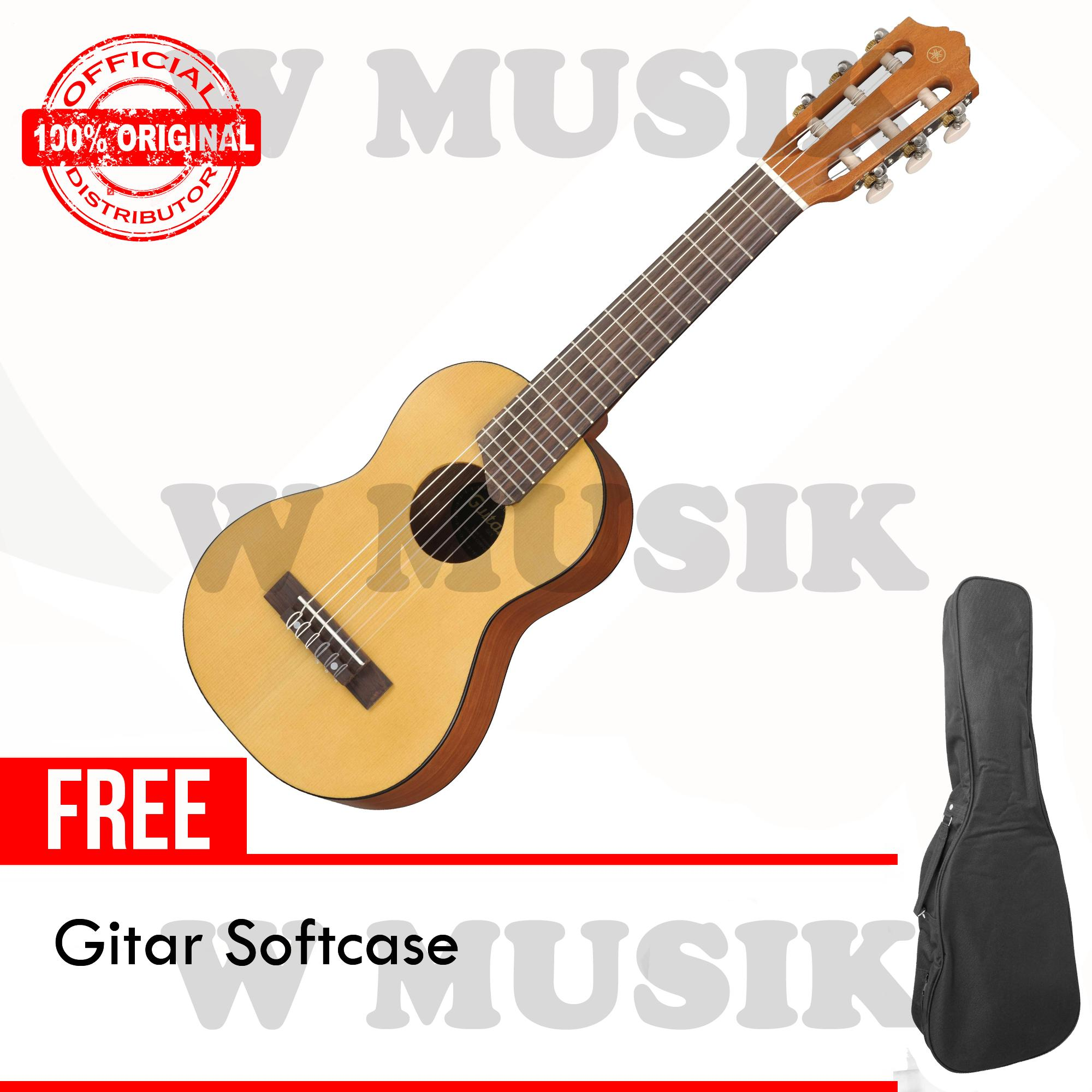 Yamaha Gitar Mini GL-1 / GL1 / Guitalele / GL1NT - Natural + Gratis Softcase