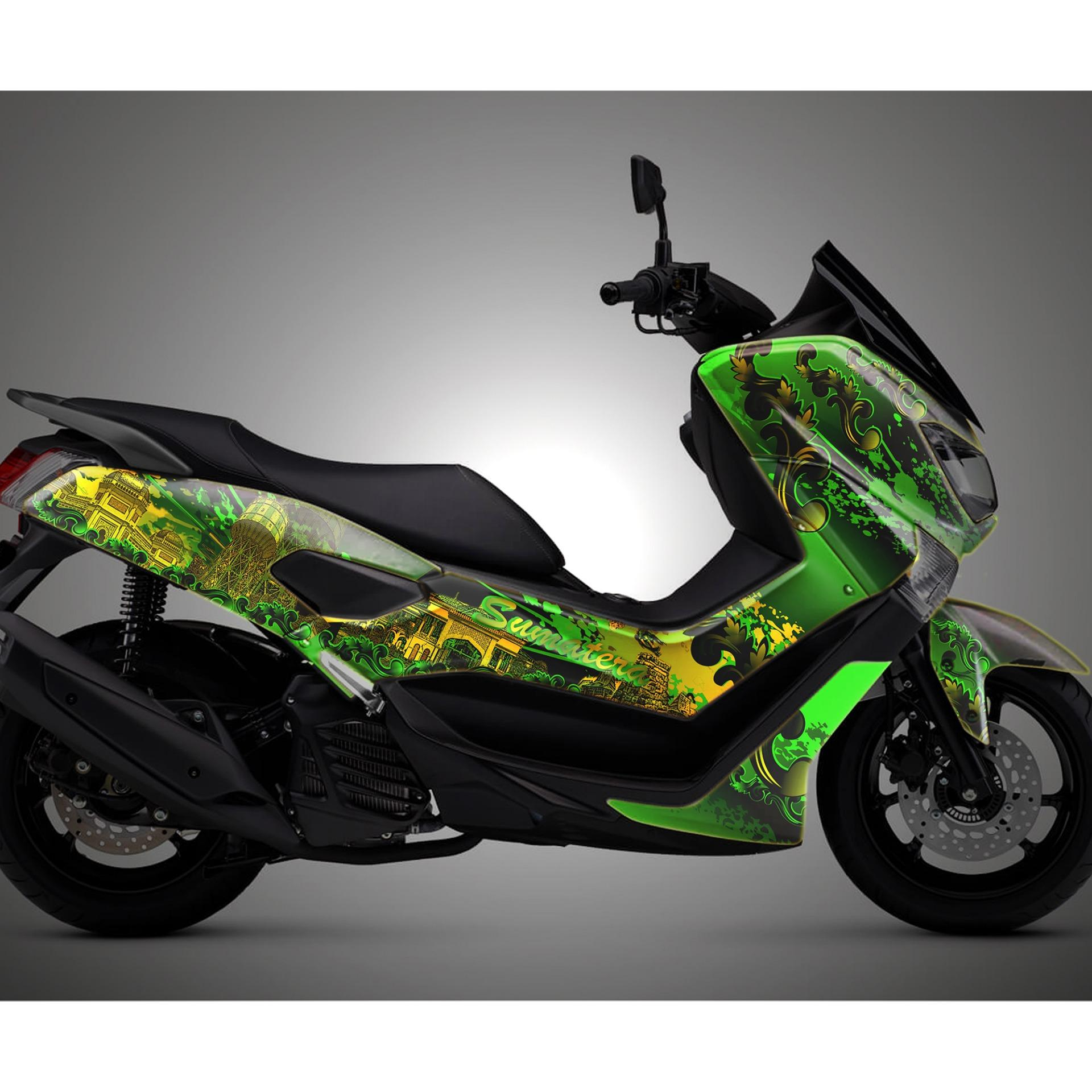 Striping decals Motor Nmax premium high quality full anti gores doff/glossy