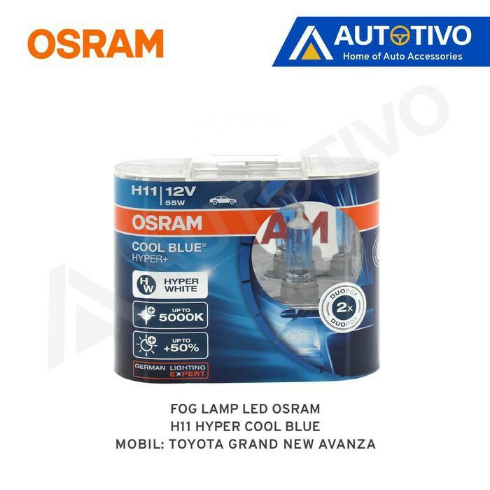 Grand New Avanza Osram Lampu Kabut (Fog Lamp) Hyper Cool Blue