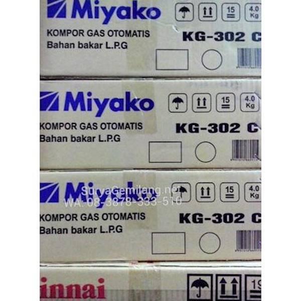 Miyako Kompor Gas 2 Tungku Kg302c Stok Terbatas !!IDR306000. Rp 309.000