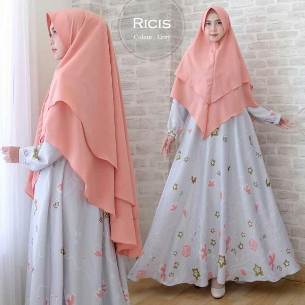 Ricis New - Baju Muslim Murah Terbaru 2018 Grosir Pakaian Wanita Busana Pesta Modern Gamis Syari Ma