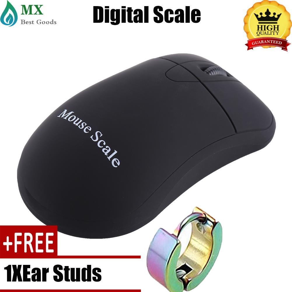 minxin[Free gift+Global express delivery] Portable Mini Digital Pocket Scale Mouse Bentuk Perhiasan Presisi Tinggi Timbangan Emas (100g/0.01g)