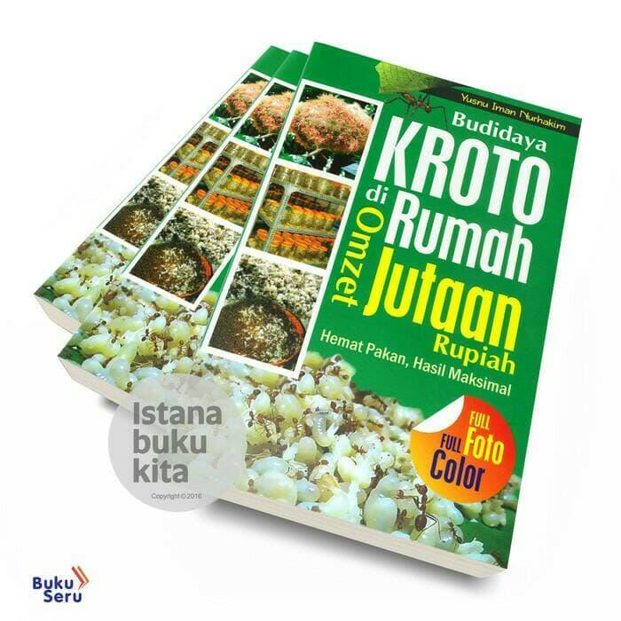 Hemat 20%!! Budidaya Kroto Di Rumah Omzet Jutaan Rupiah - ready stock