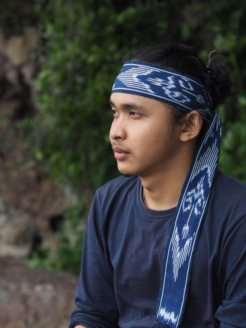 Syal Pria Termodis Berkualitas Buff Bandana Masker Serbaguna Aec Dayak5 Ikat Kepala Tenun Etnik Kalimantan