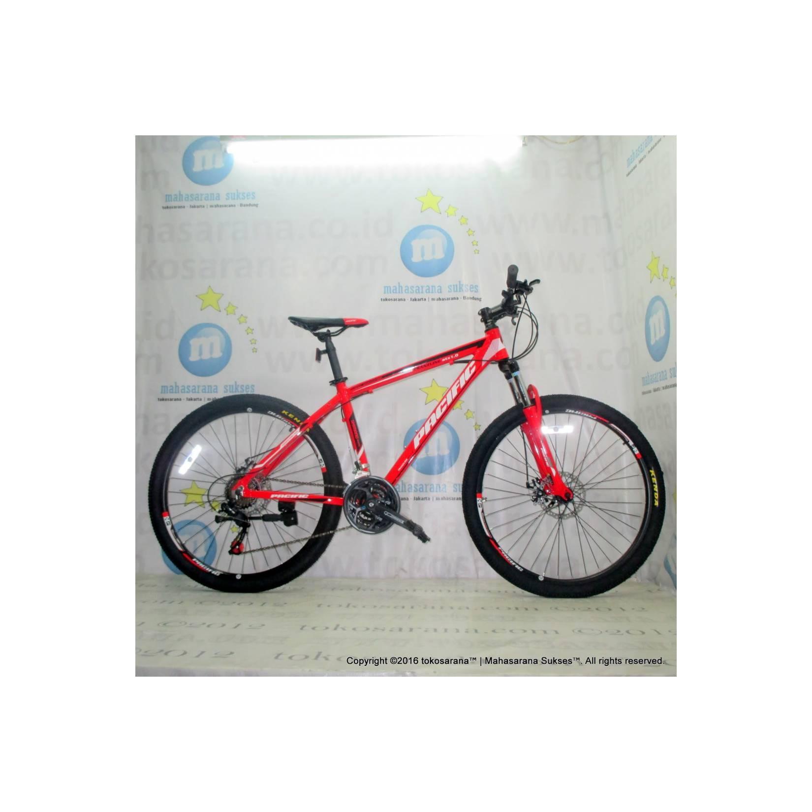 Pacific Tranzline ATX1.0 Aloi 6061 21 Speed Sepeda Gunung 26 Inci