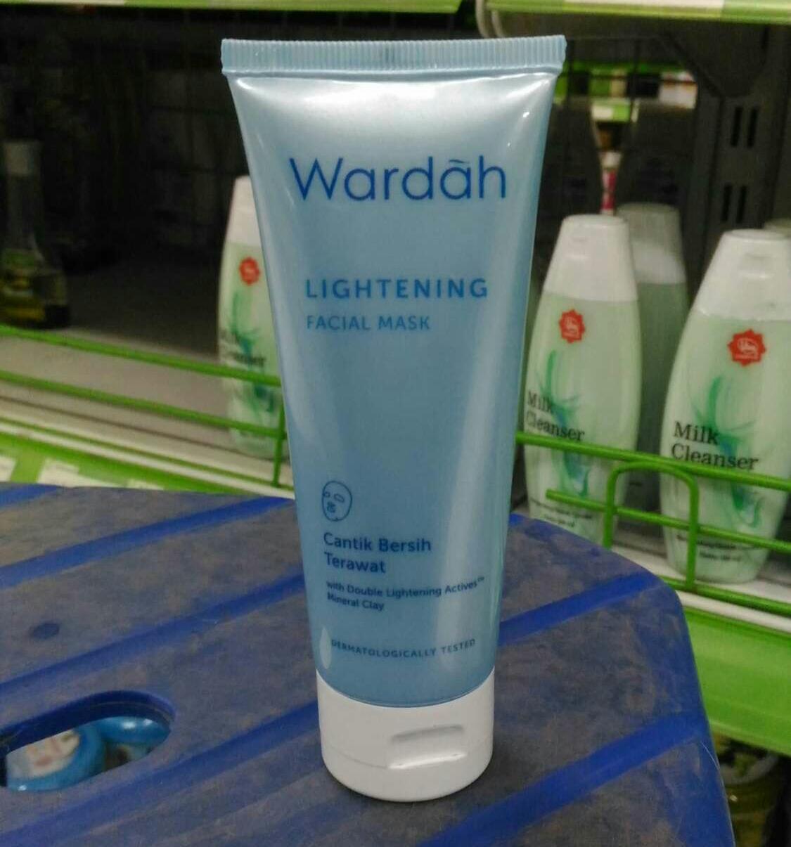 Wardah Lightening Face Mask 60 Ml Daftar Harga Terbaru Dan Facial