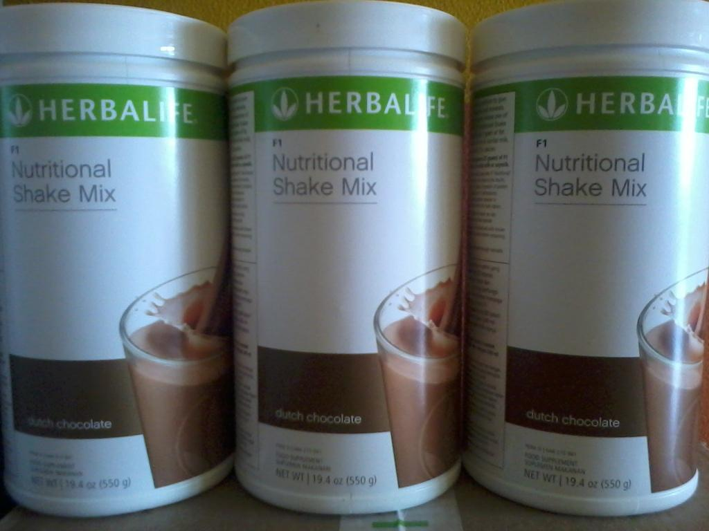 Herbalife Shake Coklat # Pengganti makanan