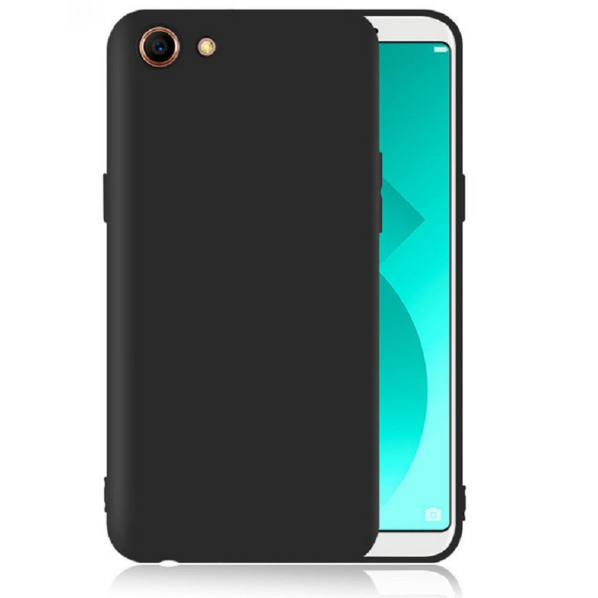 DarkNight for Oppo A83   Slim Case Black Matte Softcase Premium (Anti Minyak/Anti Sidik Jari) - Hitam Doff
