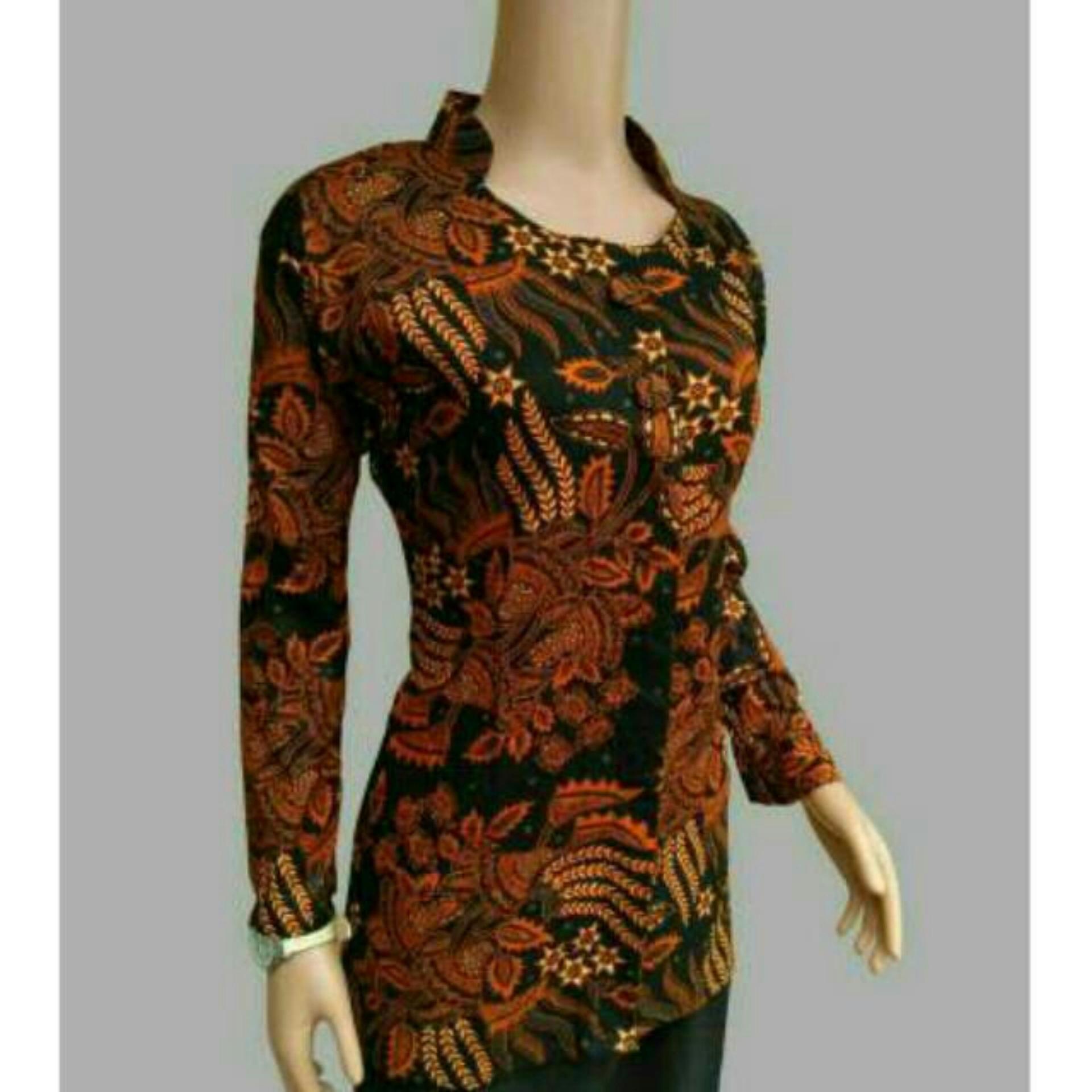 Tanah Abang F Setelan Kebaya Baju Batik Atasan dan Bawahan Kebaya Modern Baju Murah Batik Wanita Baju Wanita Batik Kutu Baru Murah