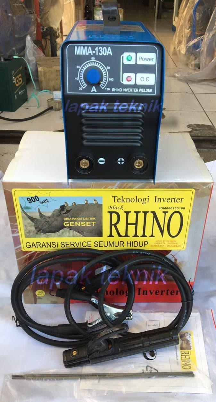 Promo Mesin Las Inverter Travolas Listrik MMA 130 Black Rhino MMA130 Original