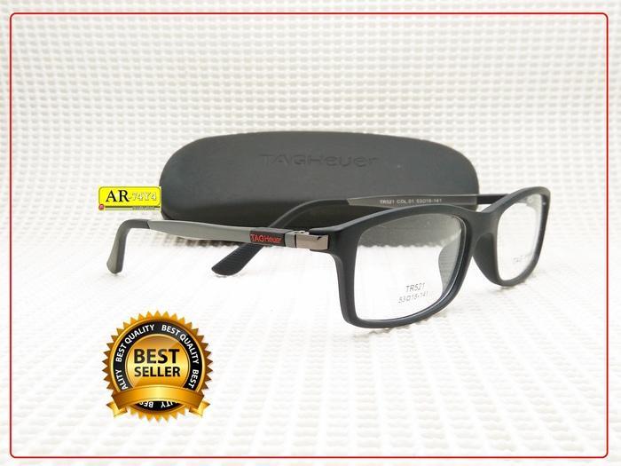 Promo Frame Kacamata Minus Tagheuer Sporty Gratis Lensa Minus Dan Plus -  ready stock 357306fc9e