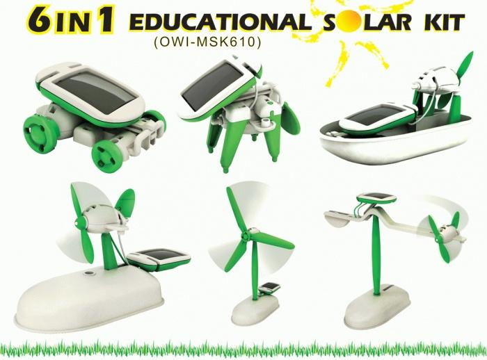 Promo Robot Solar 6 in 1| Edukasi Merakit Robot Mainan