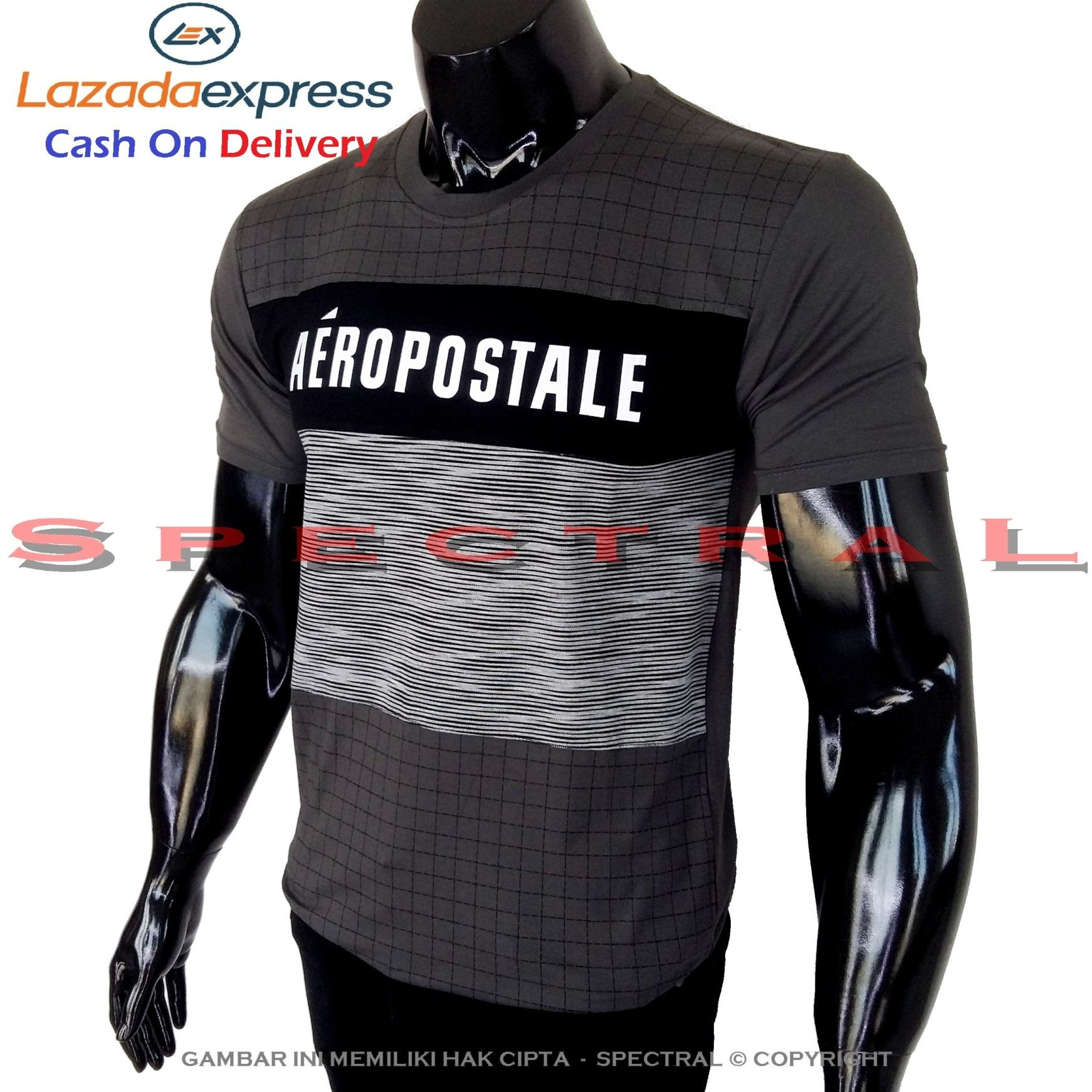 Spectral - Kaos Distro AEROPOSTALE Soft Rayon Viscose Lycra Pola M Fit To L Simple Fashionable Tidak Pasaran Kombinasi Garis Motif Art Visual