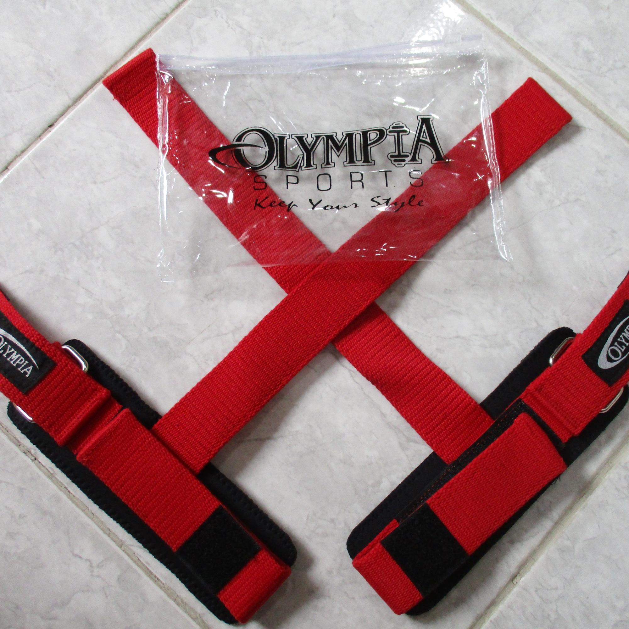 Strap Fitness Alternatif Sarung Tangan Gym Gloves Pengunci Besi Kuat dan Murah