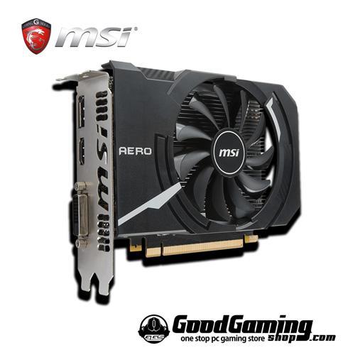 MSI GeForce GTX1050 Ti AERO ITX 2G OC