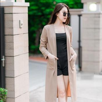 RICARDOF - Long Cardy Ryoko / Cardigan Wanita / Luaran Wanita / Fashion Korea / Koleksi