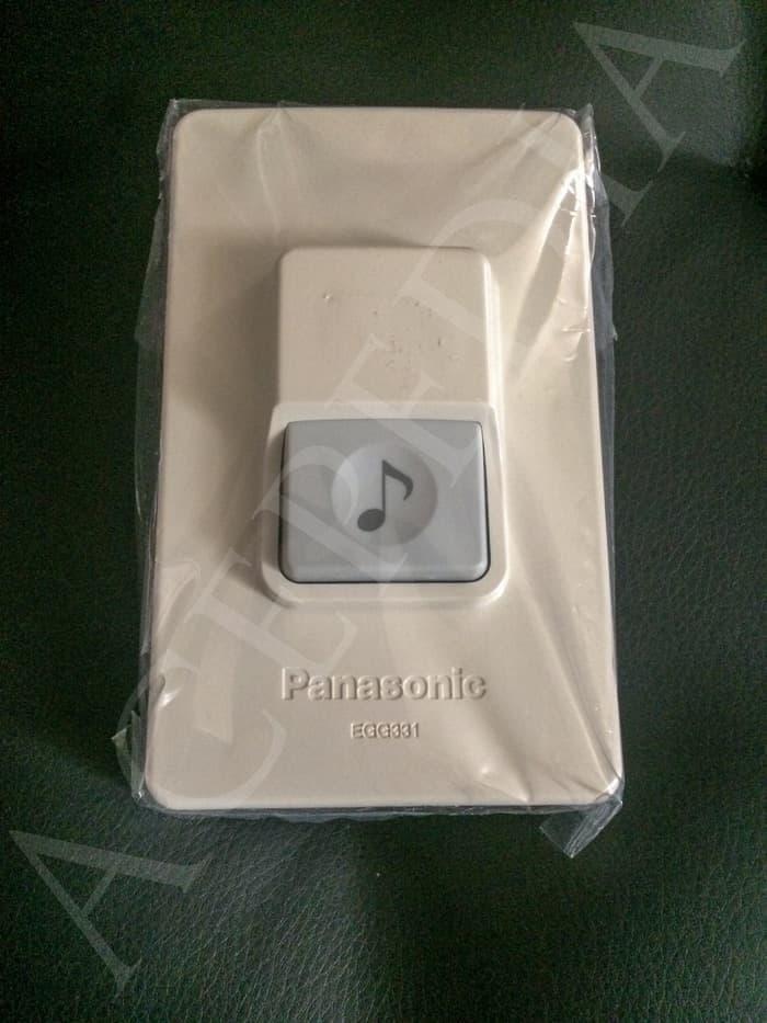 Saklar Bell Push Button For Door Chime merk Panasonic