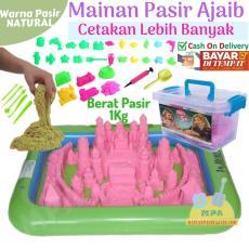Mainan Pasir Ajaib / Mainan Pasir / Pasir Mainan / Model Sand / Magic Sand /