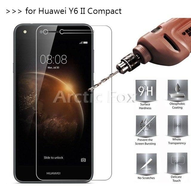 Mushroom - Anti Gores Kaca / Tempered Glass Kaca Bening Huawei Y6 II