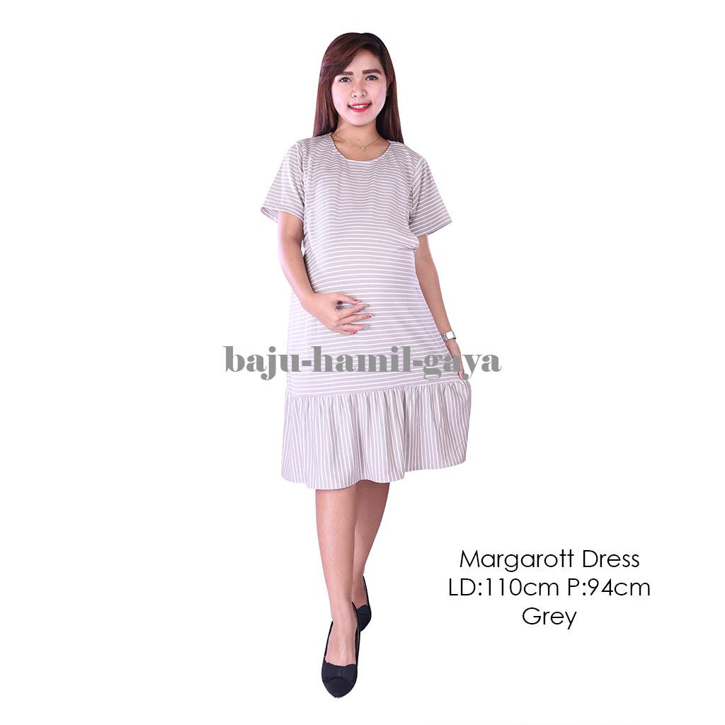 Daftar Harga Baju Daster Ibu Hamil Termurah Oktober 2018 Ini Itu Menyusui Busui Bumil Jumbo Margarott Dress Grey Terusan Wanita Murah
