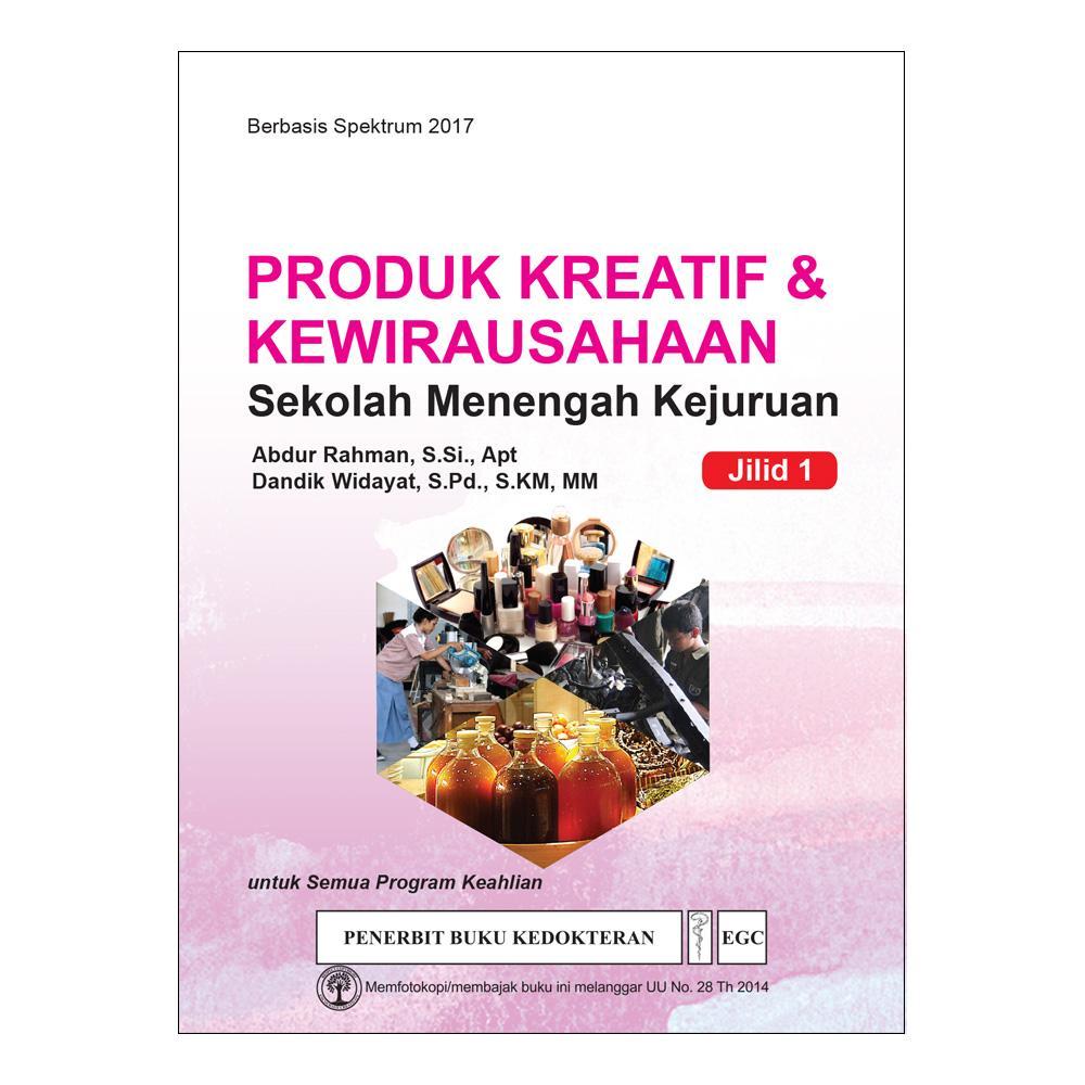 Produk Kreatif & Kewirausahaan Jilid 1 untuk SMK