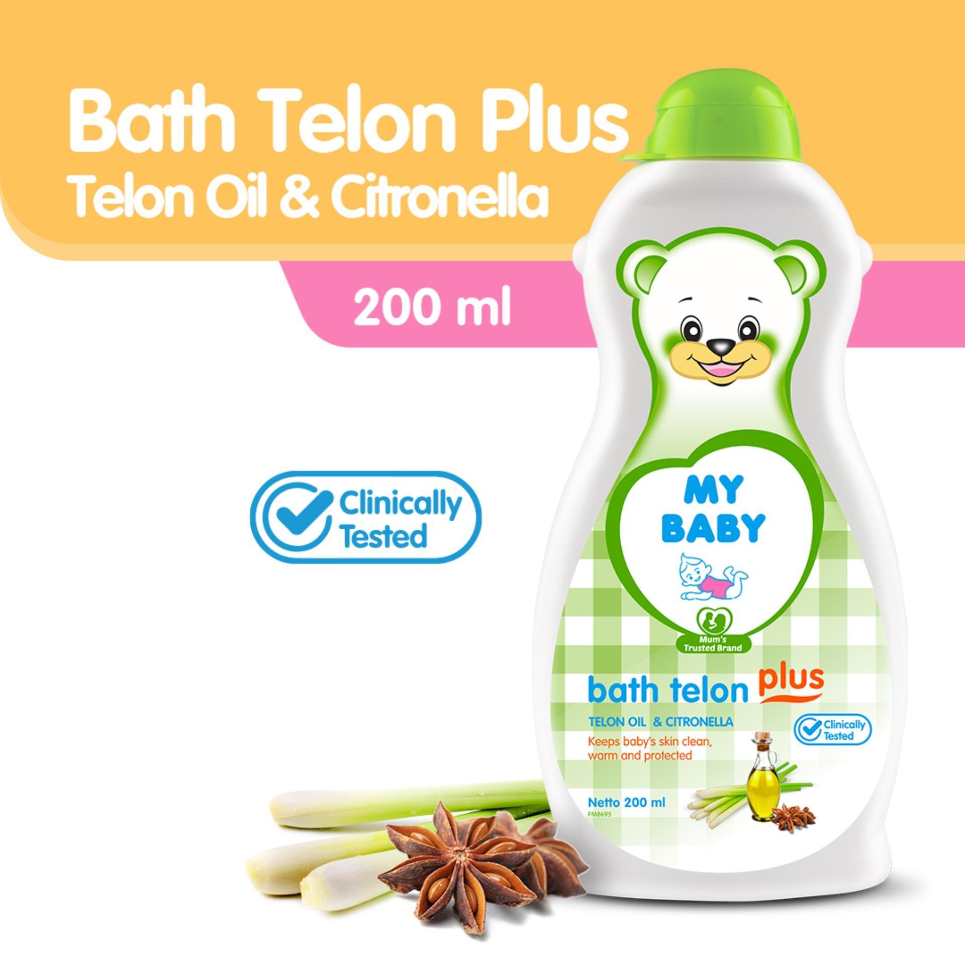My Baby Bath With Telon Plus Sabun Bayi [200 Ml] By My Baby Official Store.