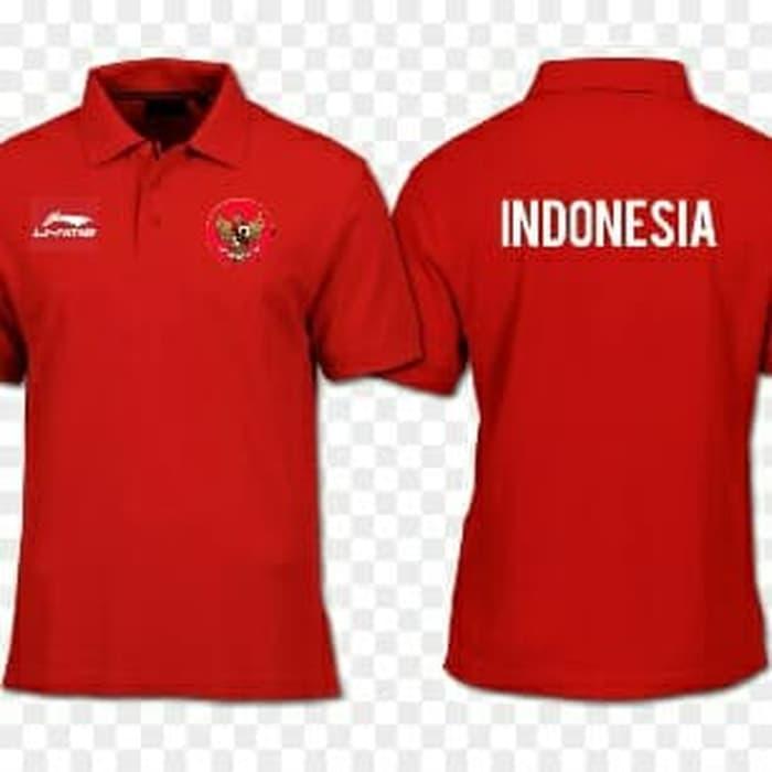 POLO KAOS BAJU POLO TIMNAS INDONESIA LINING LI-NING ASIAN GAMES/KAOS ASIAN GAMES