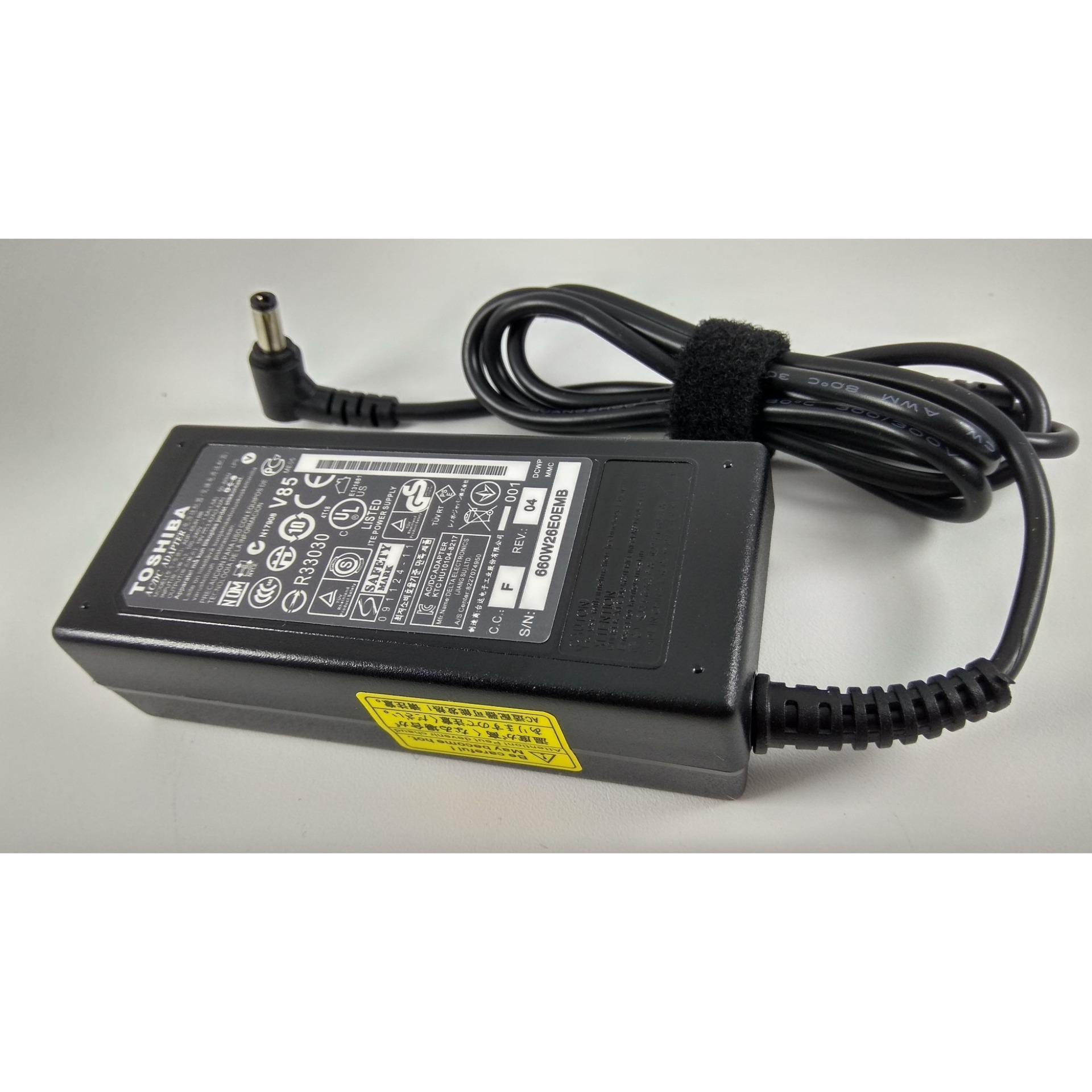Toshiba Adaptor SatellitePA3468E-1ACA, PA3468E-1AC3, PA3468U, PA3468U-1ACA Series 19V-3,42A Origina