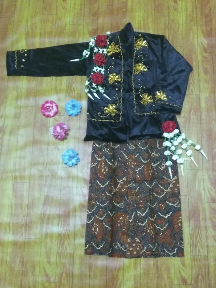 Promo Merdeka!! Baju Karnaval Manten Anak Adat Jawa Putri Keraton Solo Yogyakarta - ready stock