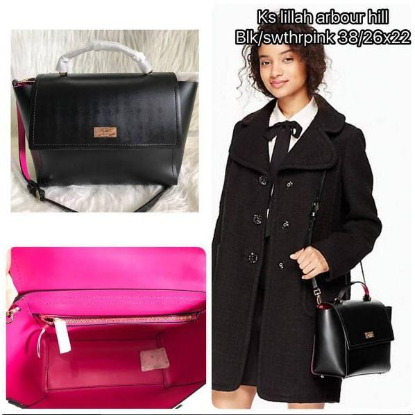 Tas Branded Original Kate Spade Bag Lillah Black