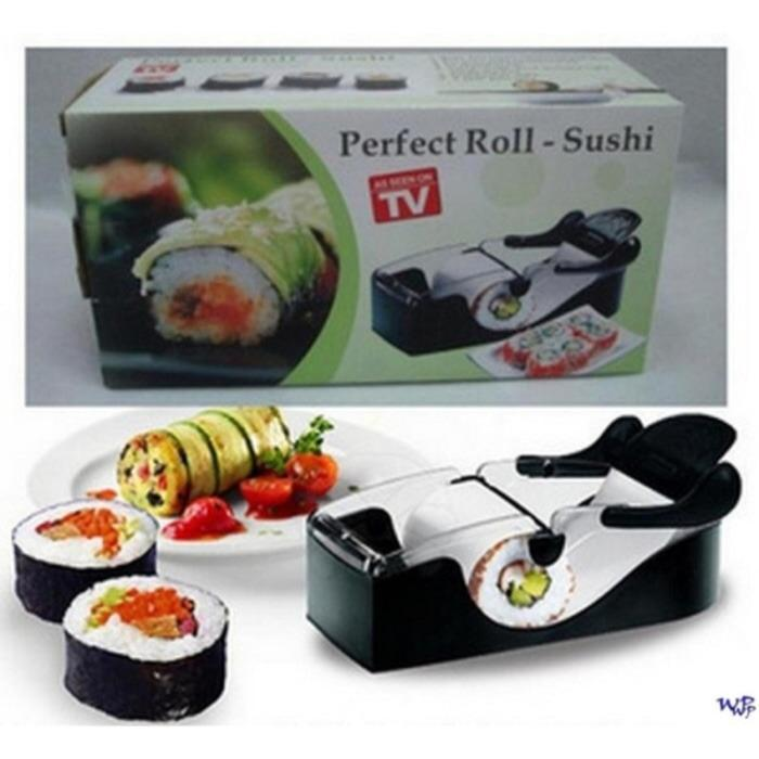 Sushi Maker Cutter Roller DIY Kitchen Perfect Magic Onigiri Roll Tool