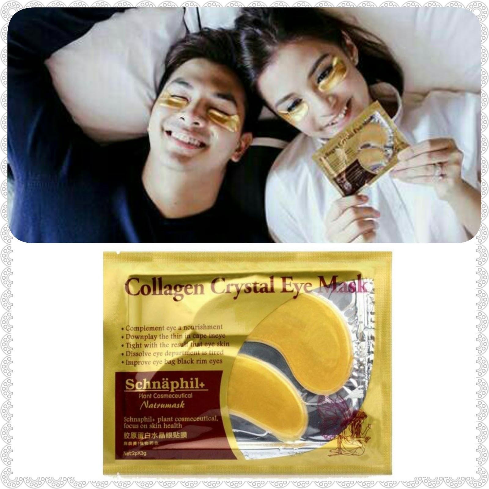 Collagen Crystal Eye Mask Lazada Eyelid Patch Gold Masker Mata Emas 1 Pcs