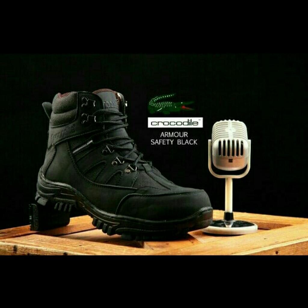 Sepatu Pria Crocodile Armour Safety Boots / Sepatu Kerja / Sepatu Adventure Touring / Proyek