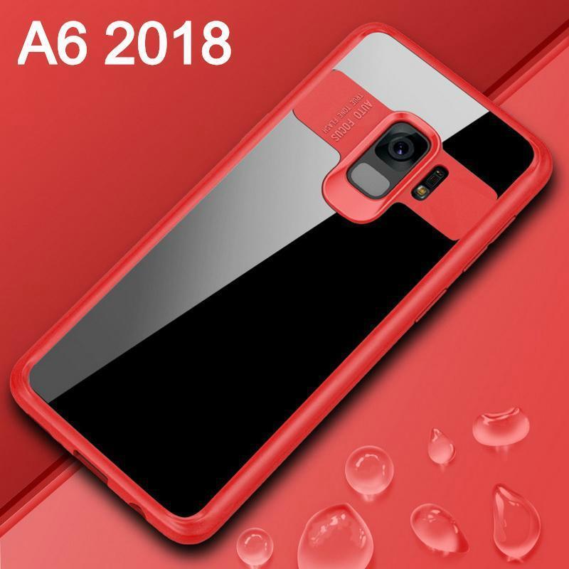Untuk Galaxy A6 2018 Case Jelas Penuh Pelindung Punggung HP untuk Samsung Galaxy A6 2018 Antioksidan Casing Transparan