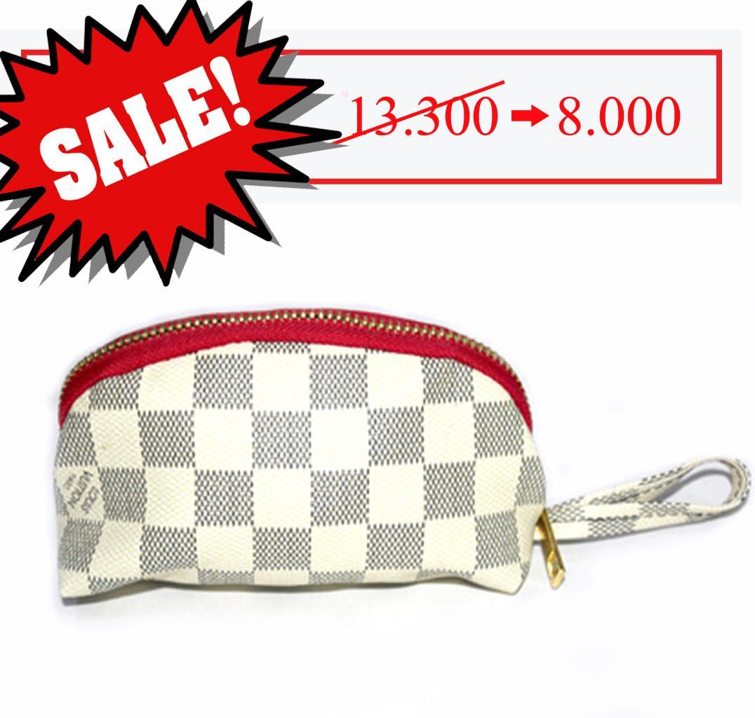 OILA [CLEARANCE SALE] dompet koin oval dompet kunci wanita dompet cewek motif print bdo102