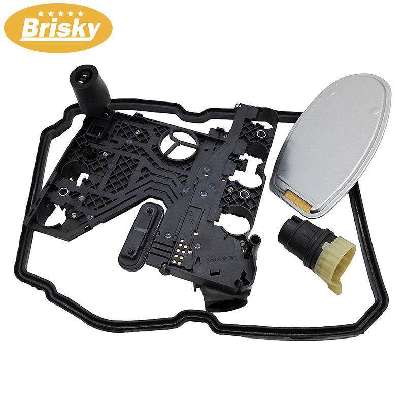 Transmission Conductor Plate+connector+filter+gasket Kit For Mercedes Benz C230 C240 C280 C32 C320 C350 C36 C43 C55 Cl55 By Brisky.