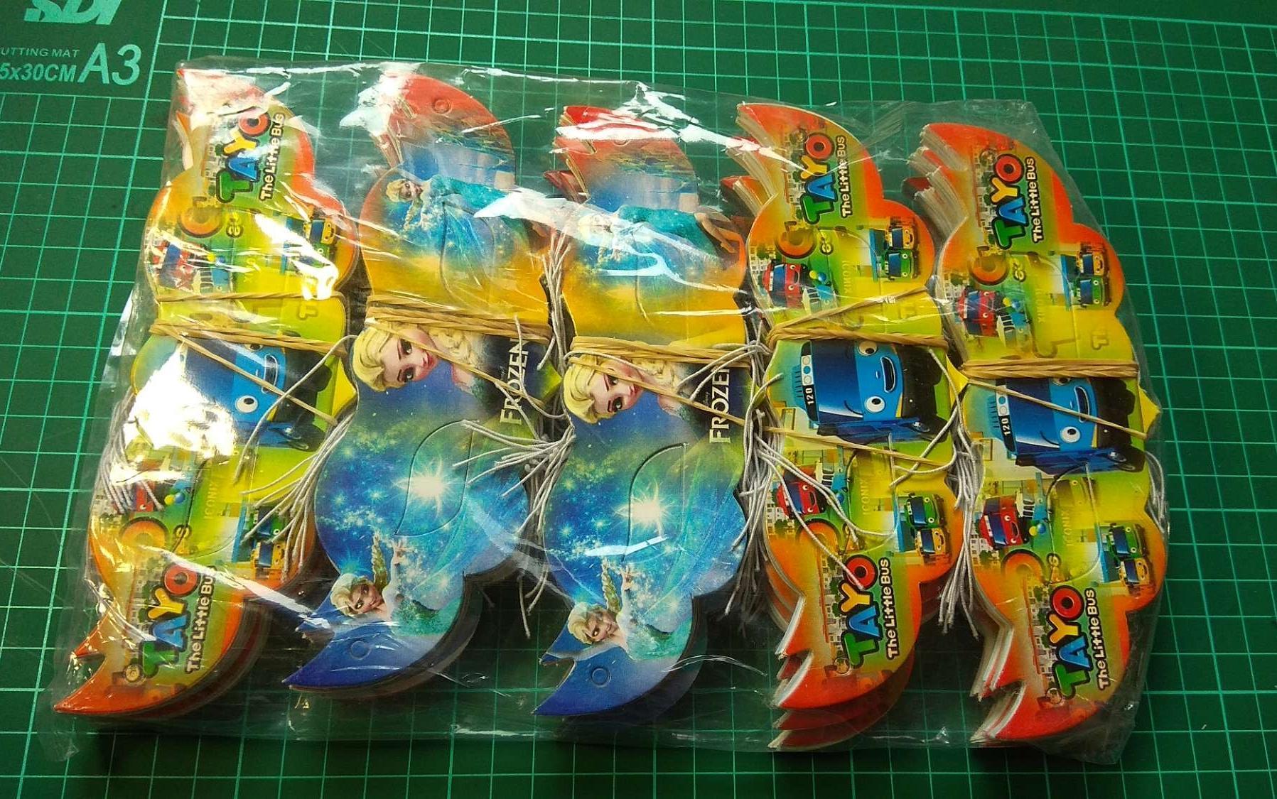 Mainan Kecamatan Mata Kertas Isi 300 Pcs By Difie Toys.