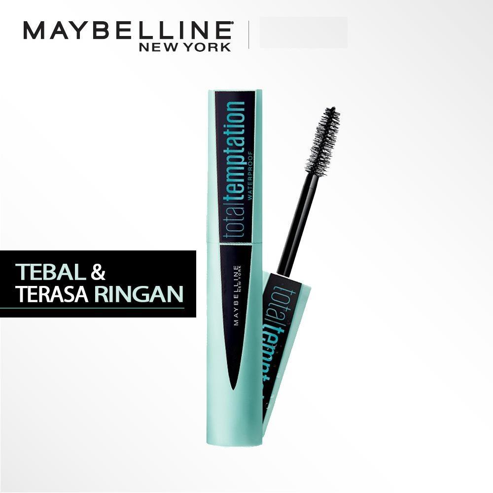 4c413fac491 Maybelline Total Temptation Waterproof Mascara - Hitam